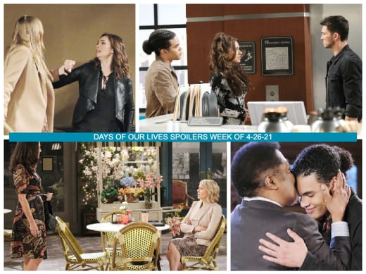 Spoilers for the Week of 4-26-21 - Days of Our Lives