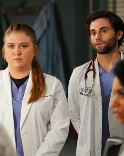 Tevi Read In - Tall  - Grey's Anatomy Season 16 Episode 20