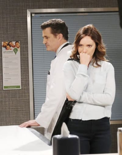 A Tense Exchange / Tall - Days of Our Lives
