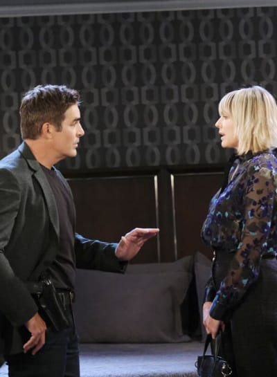 Nicole Struggles to Keep A Secret / Tall - Days of Our Lives