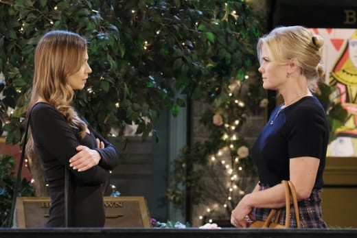 Sami Confronts Ava - Days of Our Lives