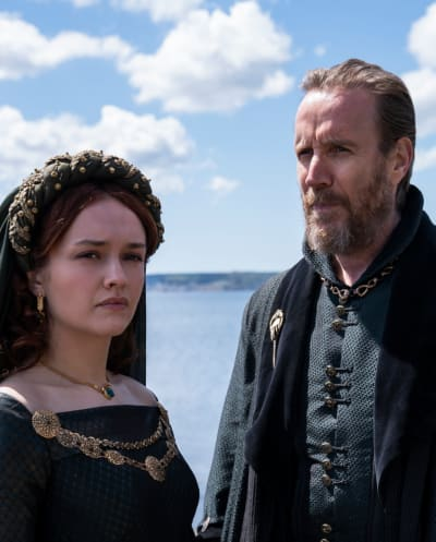 Olivia Cookie, Rhys Ifans - Game of Thrones