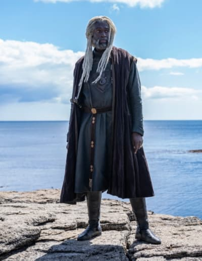 Steve Toussaint as Lord Corlys Velaryon, - Game of Thrones