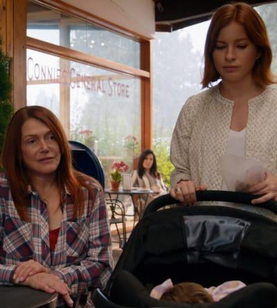 Tara and Lilly - tall - Virgin River Season 3 Episode 2
