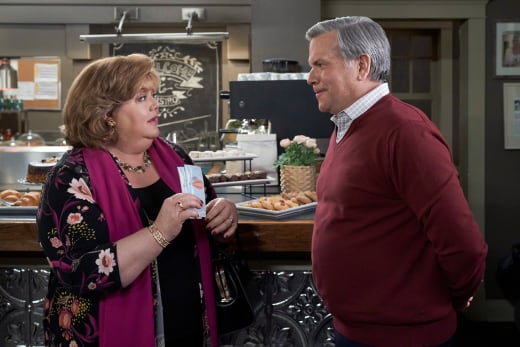 Tom and Martha at the Bistro - Good Witch Season 7 Episode 8