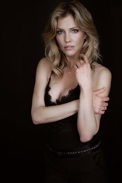 Tricia Helfer Dramatic Pose - Lucifer